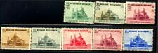 BELGIUM STAMPS, #471/476, 486-48 *, CV 30 EURO