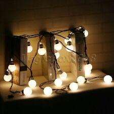 6M 20 LED String Lights Milky White Bulb Indoor Christmas Festival Party Decor