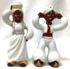 """Rare Vintage """"Made in Occupied Japan"""" Central Asian Man and Woman Figures"""
