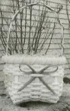 Basket Weaving Pattern Shaker Style Easter Basket by Maurine Joy