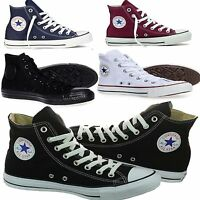 Converse Chuck Taylor Trainer All Star Hi Unisex Mens Womens Canvas Size 3 to 11
