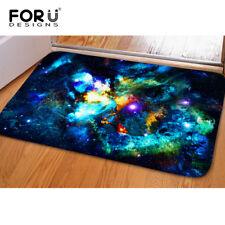 Home Doormat Galaxy Flannel Carpet Bathroom Rugs Washable Floor Entrance Mats