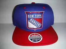 new concept 51144 3039e New York Rangers Snapback Cap NWT Authentic Hat Zephyr