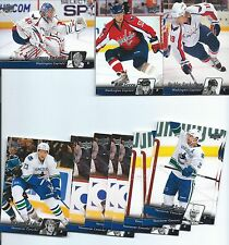 2010-11  UPPER DECK SERIES 1 AND 2 HOCKEY Complete your set 20 card lot W/ STARS