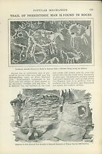 1925 Magazine Article zion National Park Rock Paintings Cliff Dwellings