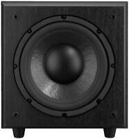 MONACOR / IMG Stage Line SOUND-100SUB / Aktiv-Subwoofer / 120W / 25cm / schwarz