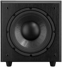 MONACOR/IMG STAGE LINE SOUND - 100sub/attivo subwoofer/120w/25cm/Nero