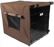 Waterproof Dog Crate Covers, Chocolate Brown Small, Medium, Intermediate, Large