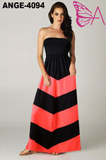 Halterneck Regular Size Maxi Dresses for Women