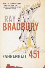 Fahrenheit 451-Ray Bradbury Science Fiction Classic-trade sized paperback