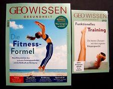 GEO Wissen GESUNDHEIT Nr.7 Heft + DVD ungelesen, 1A Top Zustand