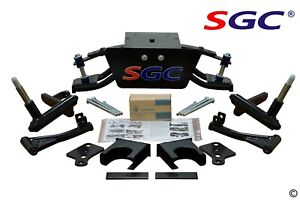 "SGC 6"" Heavy Duty Double A-Arm Lift Kit for Club Car DS Golf Cart 1982-2003"