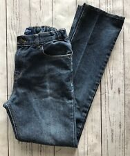 Euc Boys Old Navy Skinny Jeans, Size 18, Dark Wash Denim Adjustable