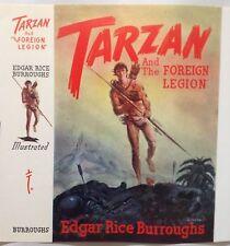 New listing Tarzan and the Foreign Legion dust jacket Unused F-Fv