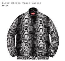 Authentic Supreme Tiger Stripe Track Jacket Sz M SS18 - Safari 1 Airmax Box Logo
