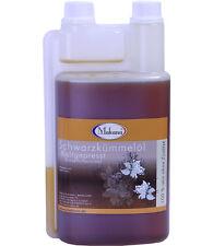 Makana Schwarzkümmelöl 1 Liter für Pferde Tiere kaltgepresst frisch 100 % rein