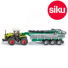 Siku No 1827 1:87 Claas Xerion Tracteur avec Samson Aspirateur Purin Citerne