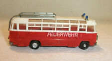 M.8/21 F VEB Berlinplast Reisebus Ikarus311 Umbau Feuerwehr DDR H0 Eisenbahn Bus