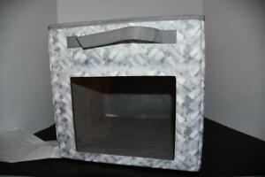 Thirty One Your Way Cube in Mystic Grey W PVC PANEL NWT