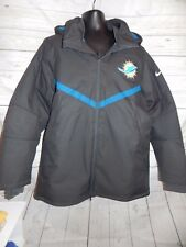 Nike Miami Dolphins  Sideline Champ Drive Full-Zip Jacket On Field Apparel XL