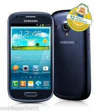 SAMSUNG Galaxy SIII S3 Mini (Sbloccato) PEBBLE BLUE I8190 Smartphone Android