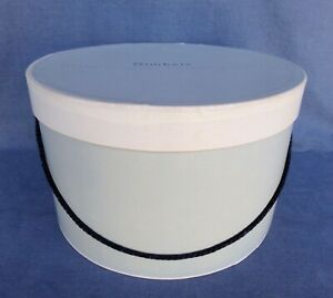 "Vintage Gimbels Hat Box 11"" Diameter 7"" Tall"