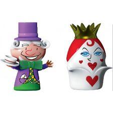 La Reine de Coeur et le Chapelier Alessi Figurines - Set deux figurines - Neuves