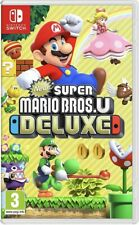 New Super Mario Bros U Deluxe for Nintendo Switch - PAL UK - BRAND NEW SEALED