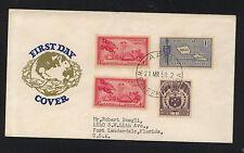 Samoa  first  day cover  cachet   1958       KL1105