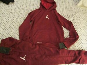 NEW Boys NIKE  2Pc OUTFIT AIR JORDAN DRI-FIT OUTFIT Hoodie+Pants YMD FREE SHIP