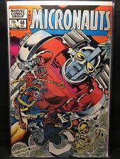 Micronauts #48  Marvel Bronze Age Comic Book