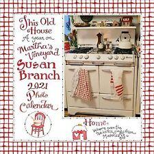 Year on Martha's Vineyard 2021 Calendar, Paperback by Branch, Susan, Brand Ne...