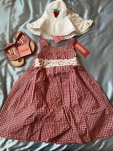 """Gymboree """"Strawberry Farm"""" 🍓 Collection - NWT - Size: 3T, Shoes: 5/6)"""