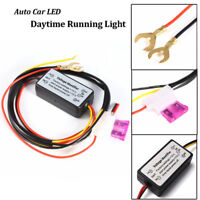ONOFF Automatic Dimmer Harness DRL Control Car Led Daytime Running Light Relay Q