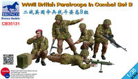 Bronco 1/35 35131 WWII British Paratroops In Combat Set B