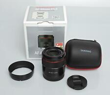 Samyang AF 45mm f/1.8 FE Lens for Sony E - MINT / LN condition