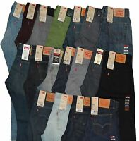 Levi's Men's 514 Straight Fit Jeans FREE FAST SHIPPING 30 31 32 34 33 36 38 29 x