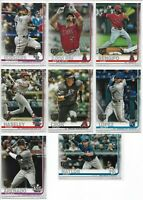 2019 Topps Update (43) Card Lot of 150 Years Gold Stamp Parallels Rookies + More