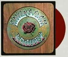 Grateful Dead Sealed American Beauty Lp Urban Outfitters Limited Red Vinyl Oop