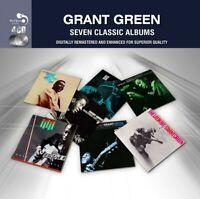 GRANT GREEN - 7 CLASSIC ALBUMS 4 CD NEU