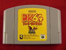 Donkey Kong 64 DK64 (Nintendo 64 N64, 1999) Japan Import