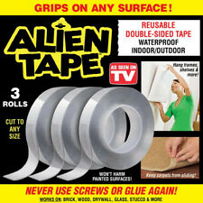 Seen On Tv Alien Tape - Instantly Locks Anything into Place Without Screws !
