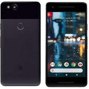 Google Pixel 2 - 128GB - Just Black (Unlocked) Smartphone - UK Spec