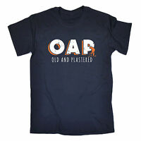 OAP Old And Plastered MENS T-SHIRT tee birthday funny dad grandad grandfather