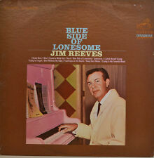 """JIM REEVES -BLUE SIDE OF LONESOME - 1967 RCA VICTOR LSP 3793 12"""" LP (X 166)"""