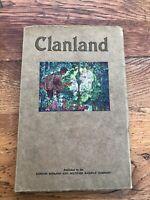 clanland - published by the london midland & scottish railway company