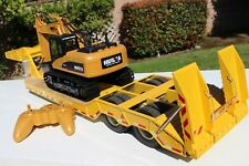 Aluminum LowBoy Trailer + R/C Excavator for Tamiya 1/14 King Grand Knight Hauler