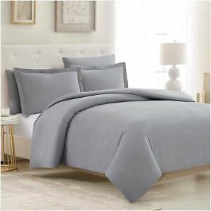 Mellanni Duvet Cover Set 5 Pcs with 2 Shams and 2 Pillowcases, 1800 MIcrofiber
