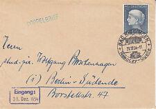 "Bund MiNr. 203 EF, SoSt ""Rakoczy-Quelle"", Bad Kissingen, 29.12.1954"