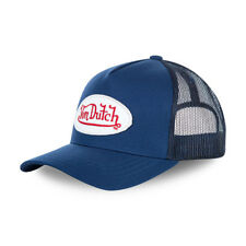 Von Dutch Gorra De Béisbol Azul - ** nuevo **